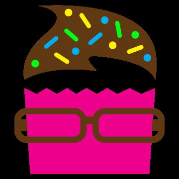 Notpie cupcakes logo